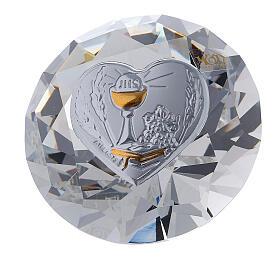 Diamant en verre souvenir maternité s5