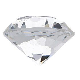 Diamant en verre souvenir maternité s7