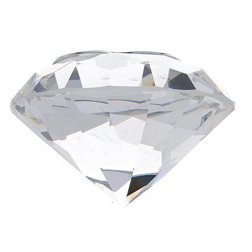 Diamant en verre souvenir maternité 7
