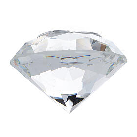 Diamond shaped favor of glass Maternity s3