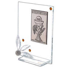 Glass picture Holy Communion panel s2