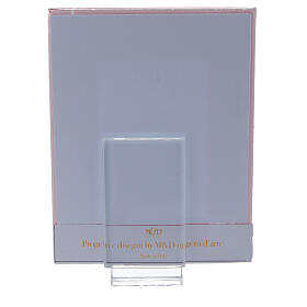Picture frame Confirmation red frame with rhinestones s3