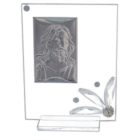 Glass picture with face of Christ s3