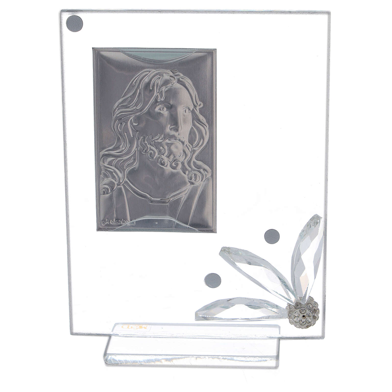 Picture of glass Face of Christ 3