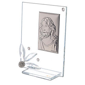 Picture of glass Face of Christ s2
