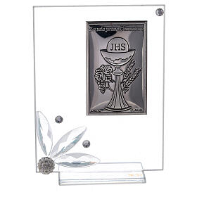 Glass picture Holy Communion favor s1