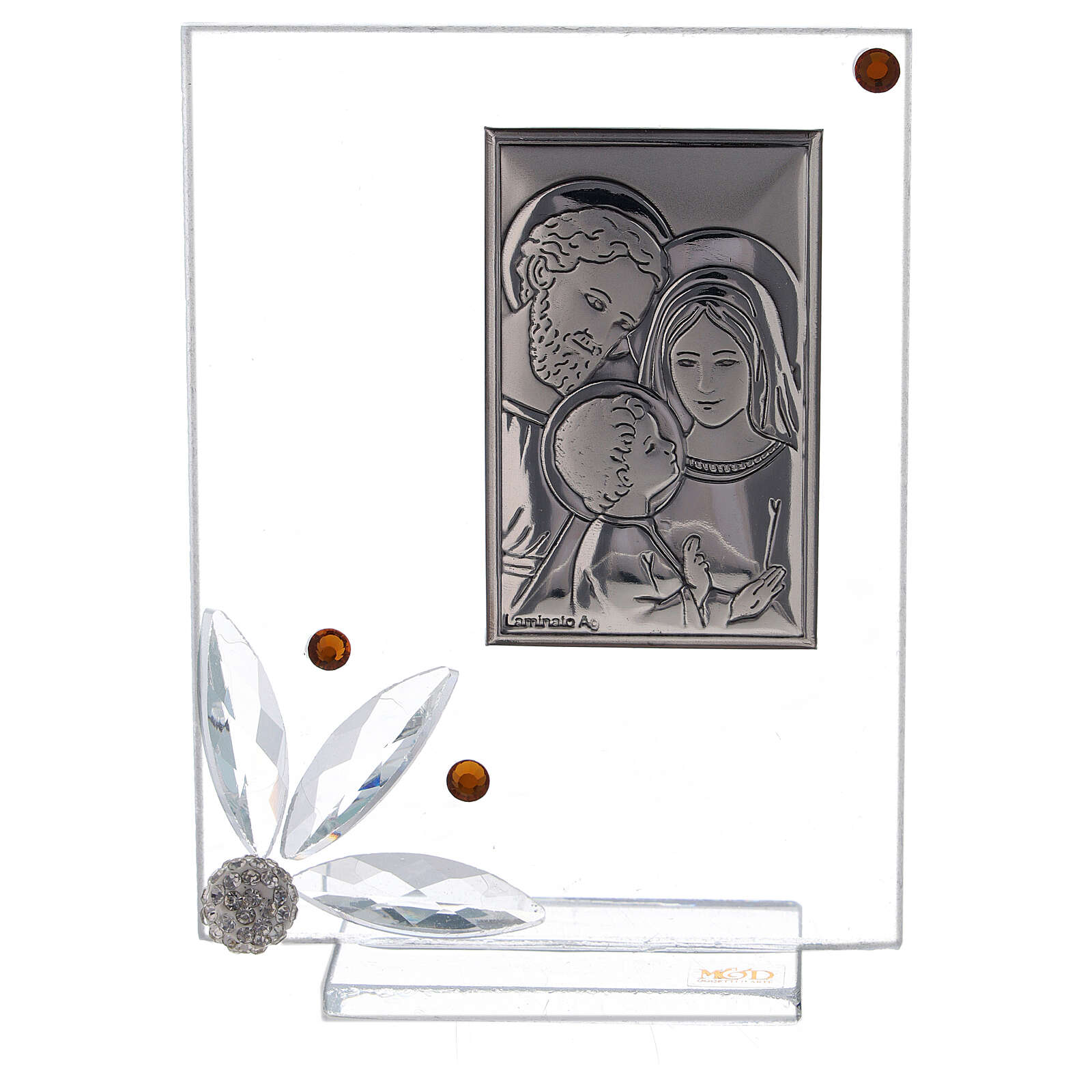 Glass picture with Holy Family favor 3