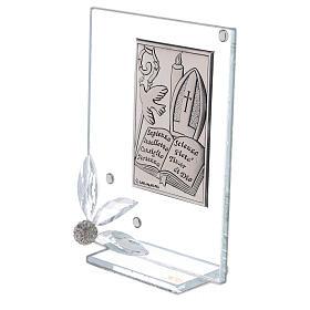 Cadre souvenir plaque symboles Confirmation s2