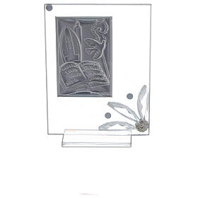 Cadre souvenir plaque symboles Confirmation s3