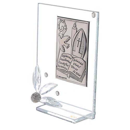 Cadre souvenir plaque symboles Confirmation 2