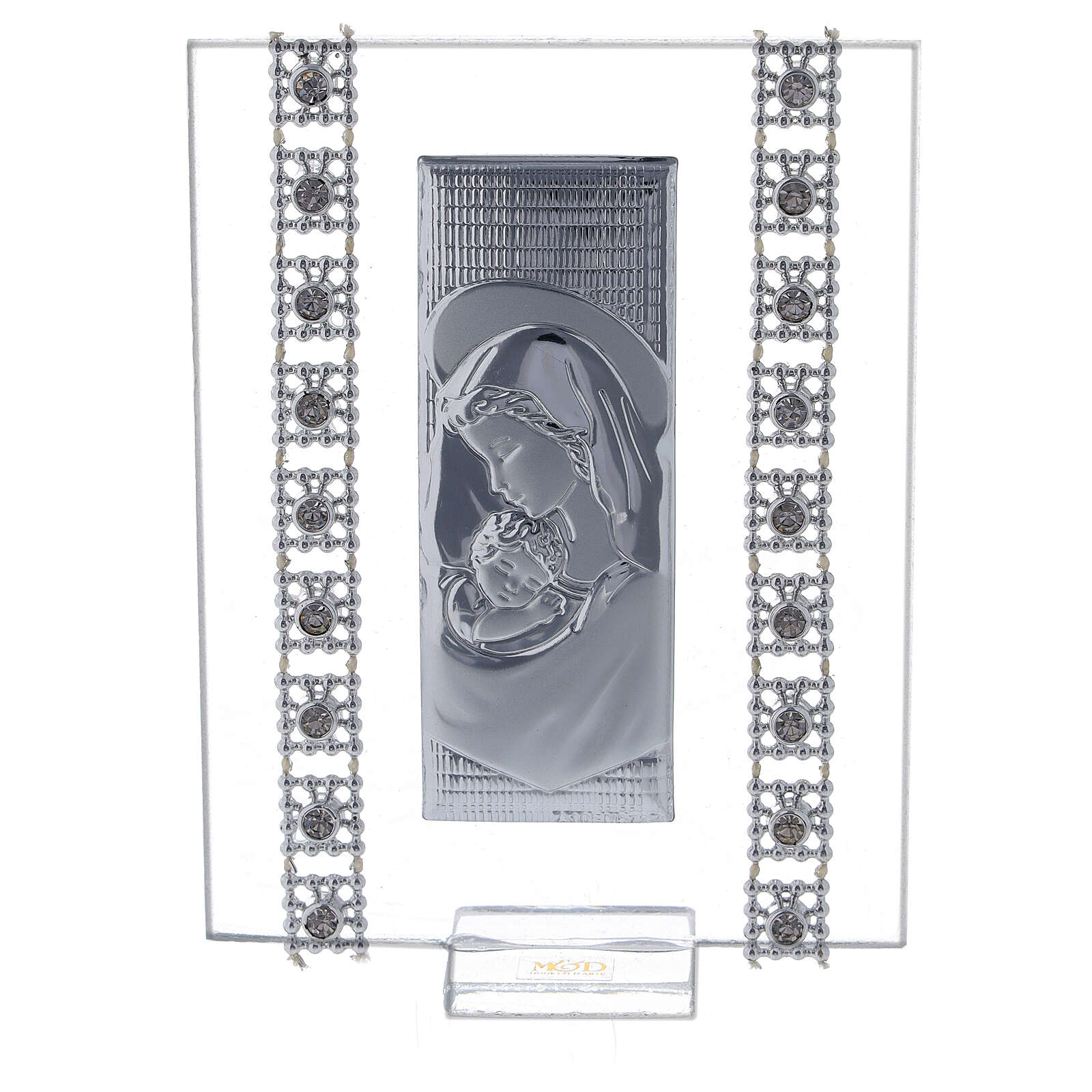 Lembrancinha quadro maternidade com strass 3