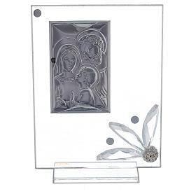 Cuadrito recuerdo Sagrada Familia vidrio s3
