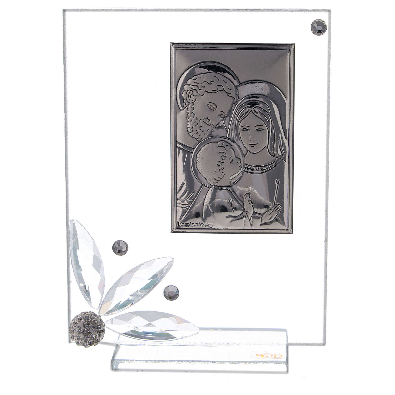 Picture glass favor Holy Family 3