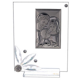 Picture glass favor Holy Family s1