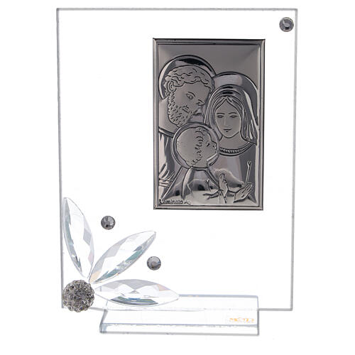 Picture glass favor Holy Family 1