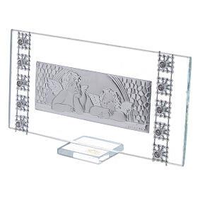 Souvenir cadre rectangulaire Baptême s2