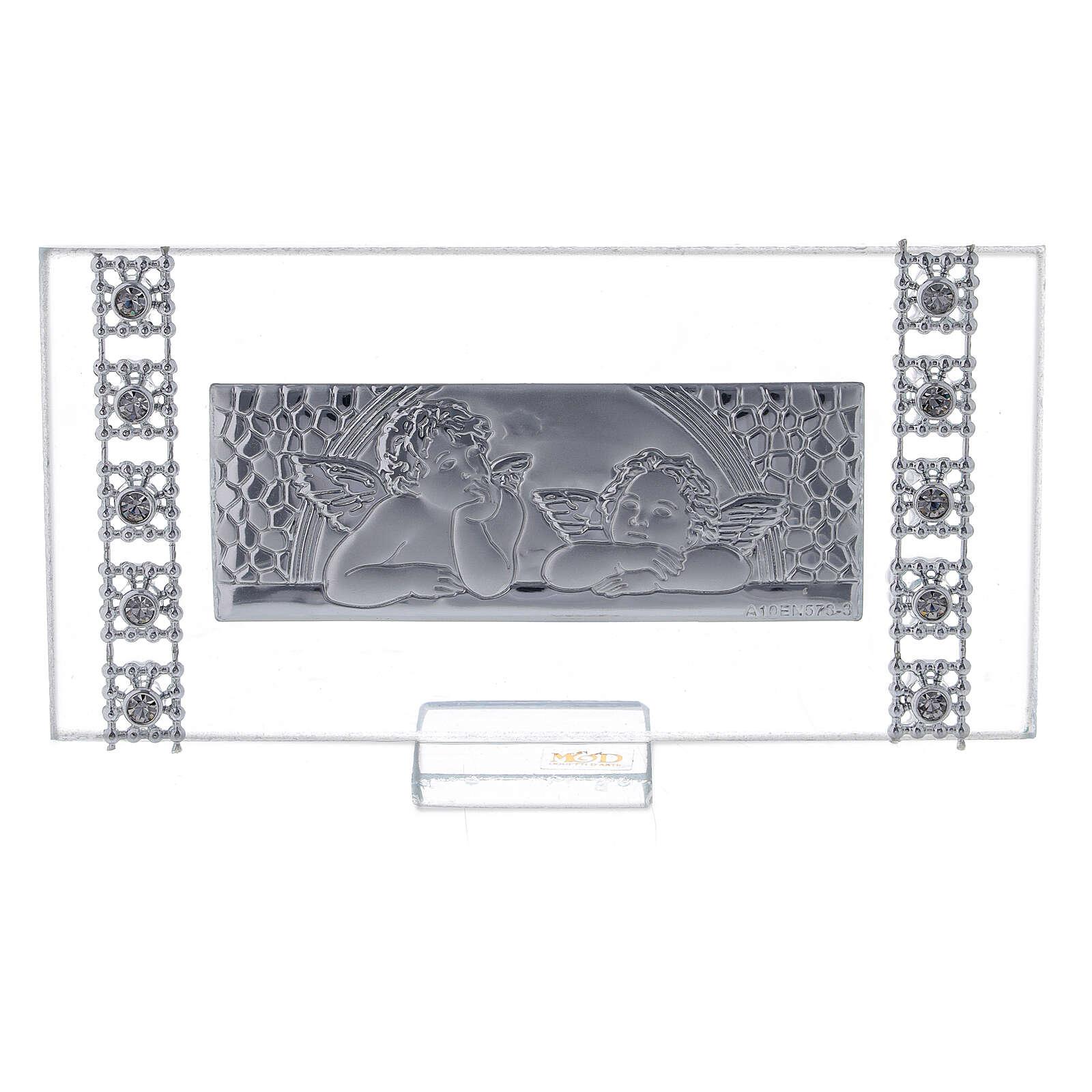 Lembrancinha quadro rectangular batismo 3