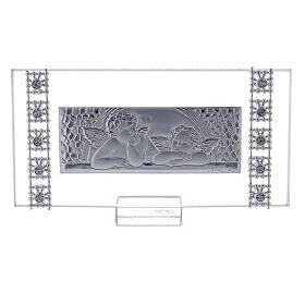 Lembrancinha quadro rectangular batismo s1