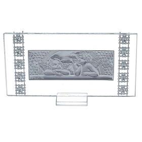 Lembrancinha quadro rectangular batismo s3