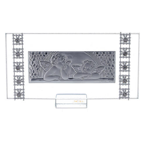Lembrancinha quadro rectangular batismo 1