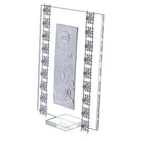 Souvenir strass et symboles Communion verre s2