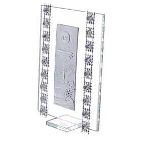 Favor strass and Holy Communion symbols glass s2