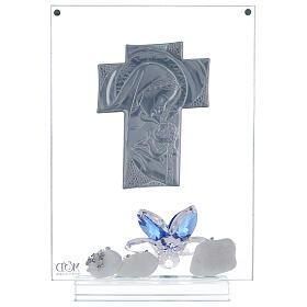 Cuadro placa cruz maternidad s3