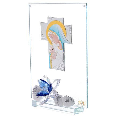 Cuadro placa cruz maternidad 2