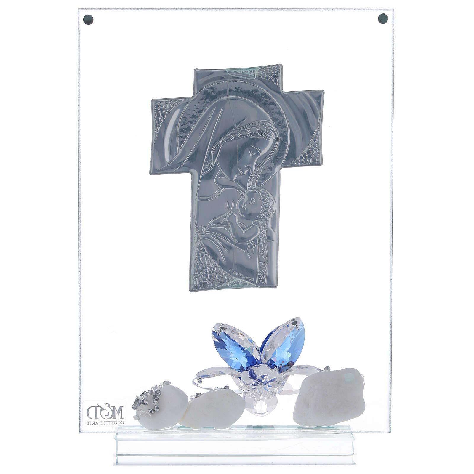 Cadre plaque croix maternité 3