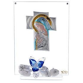 Cadre plaque croix maternité s1