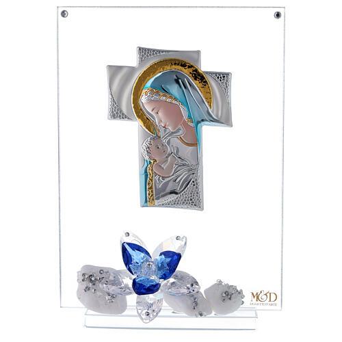 Quadro placca croce maternità 1