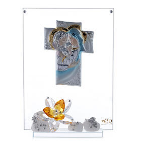 Picture Holy Family with amber flower s1