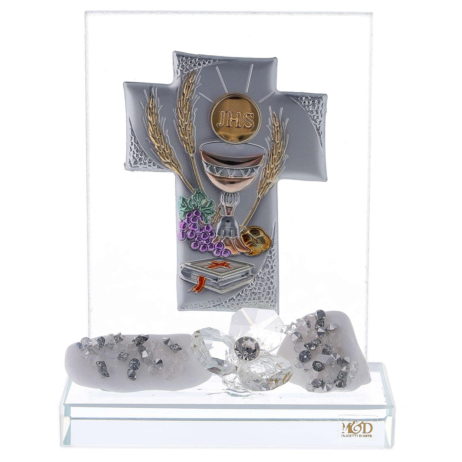 Glass favour for Communion 3