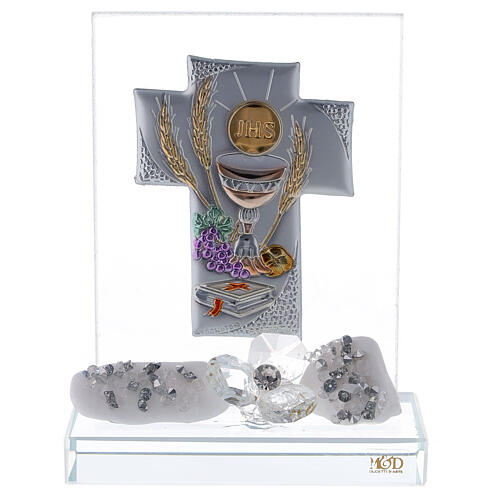 Glass favour for Communion 1