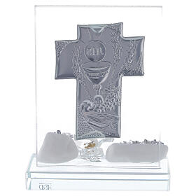 Picture Holy Communion glass flower s3