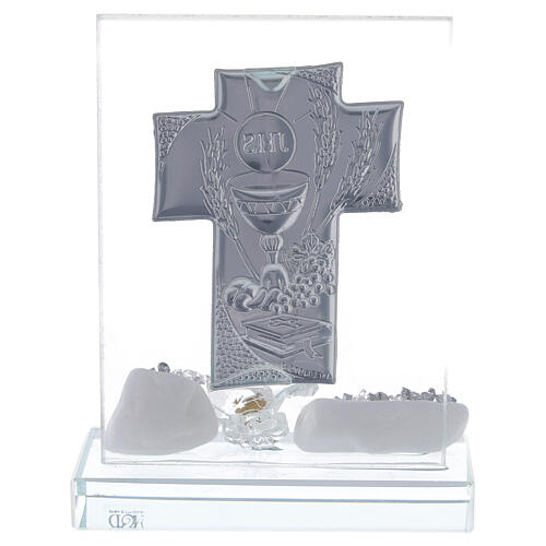 Picture Holy Communion glass flower 3