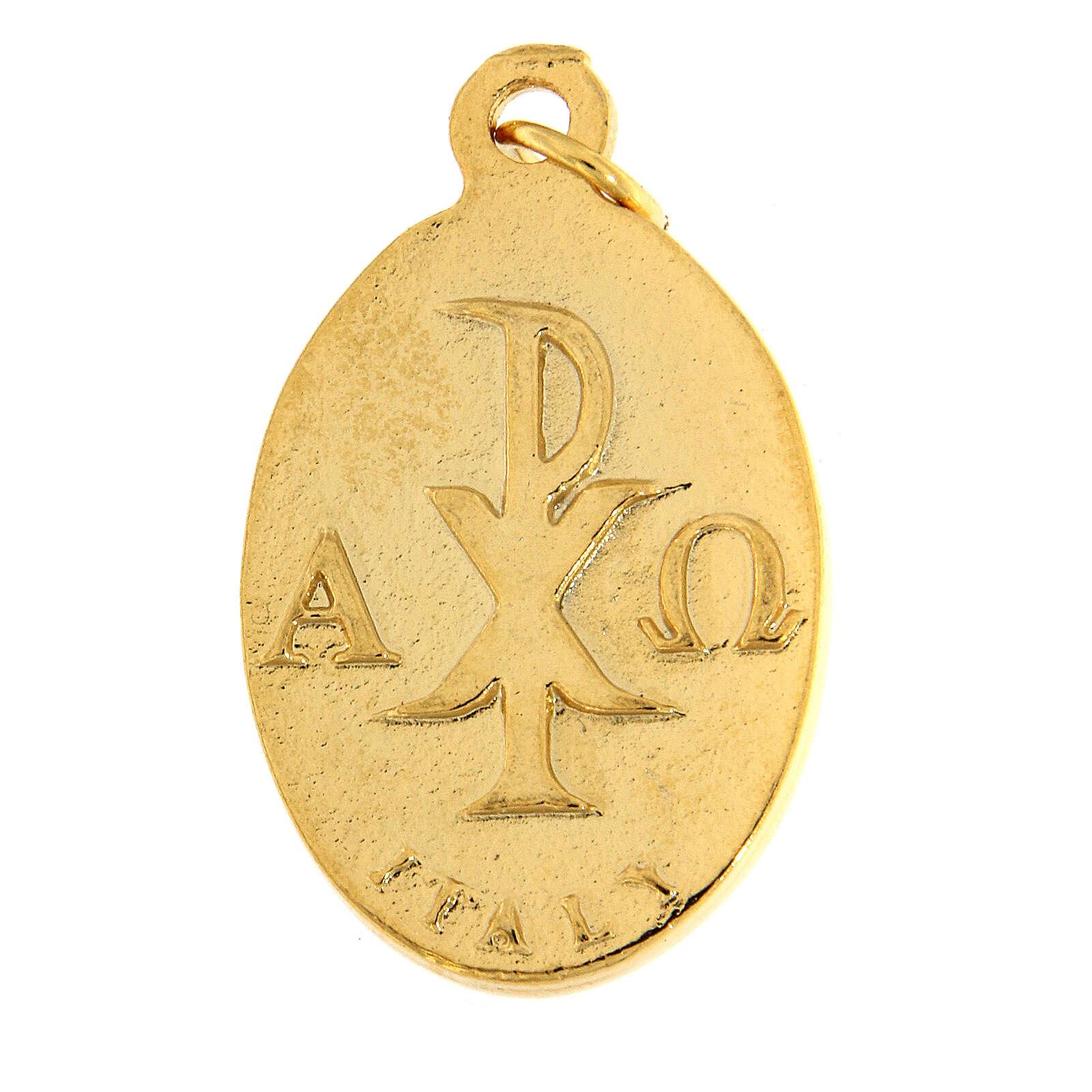 Médaille émaillée calice Communion 3