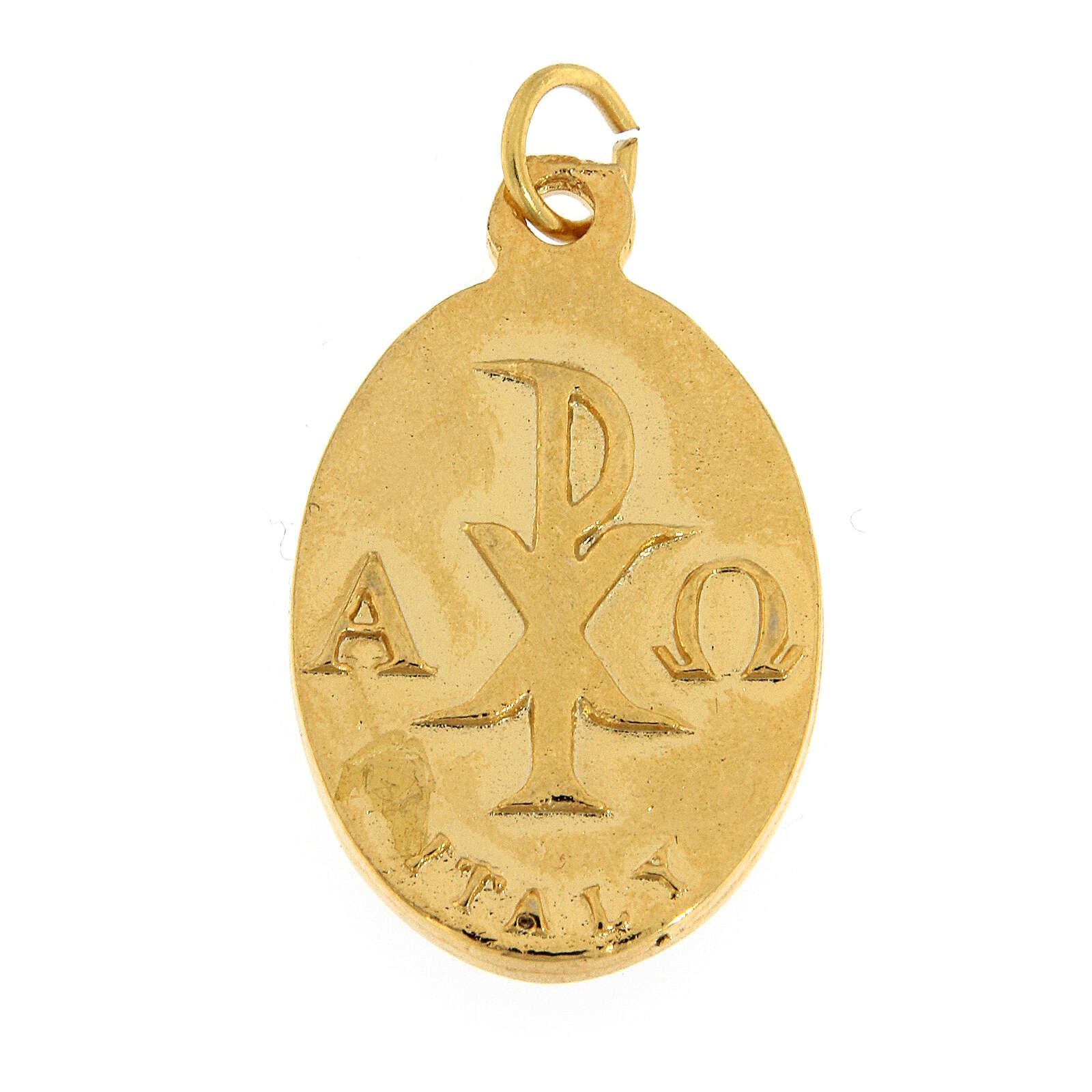 Medalla Confirmación esmaltada de rojo 3