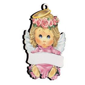 Ricordino bimba angelo 10 cm s2