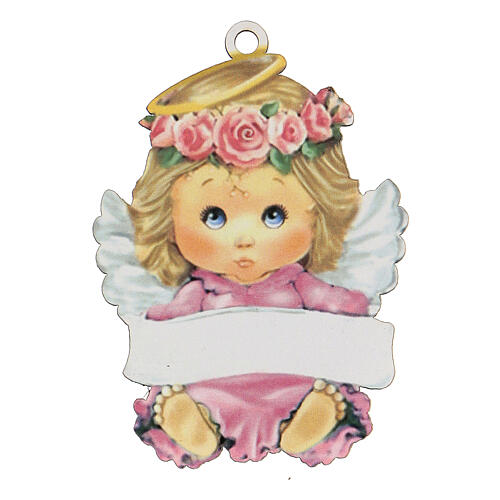 Ricordino bimba angelo 10 cm 1