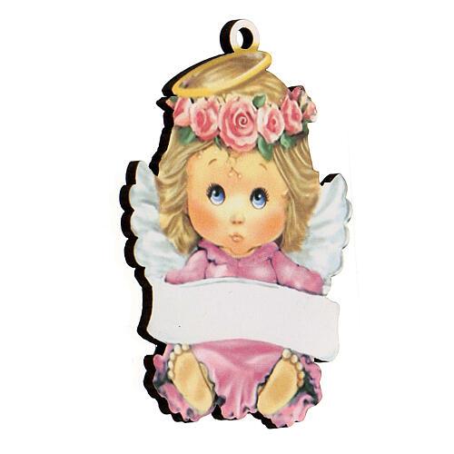 Ricordino bimba angelo 10 cm 2