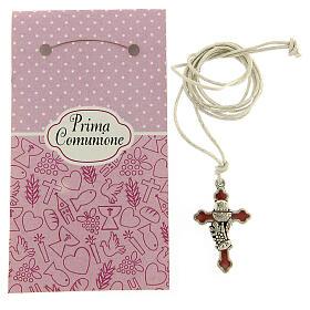 Communion pink nail polish pendant s3