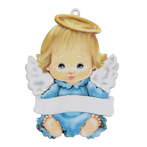 Cuadrito Ángel niño 15 cm 1