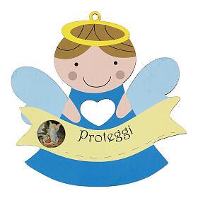 Souvenir naissance enfant Ange Protège-moi s1