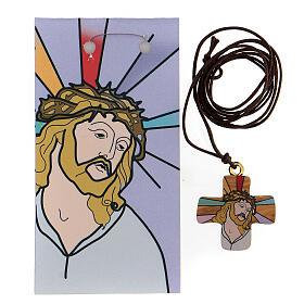 Cruz Jesús impreso olivo s3