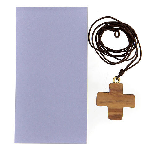Cruz Jesús impreso olivo 4