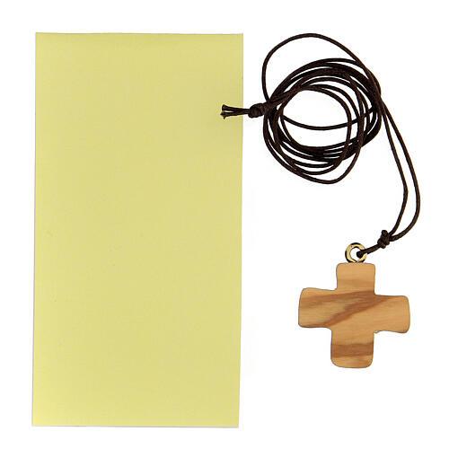 Croce stampata Comunione ulivo 3