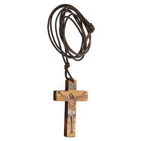 Ciondolo croce stampa Gesù s2