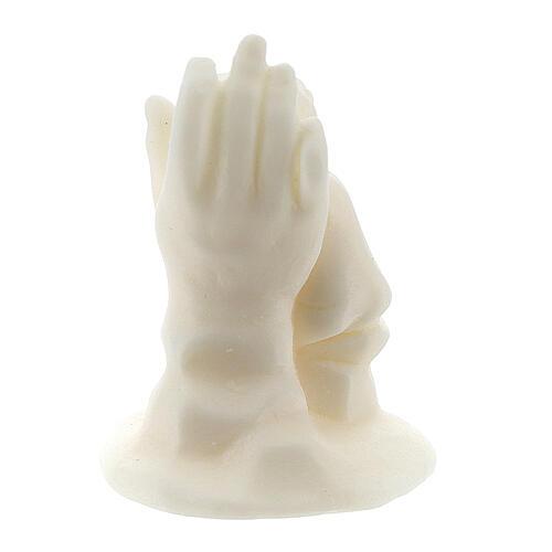 Ange sur main résine blanche pour garçon 4