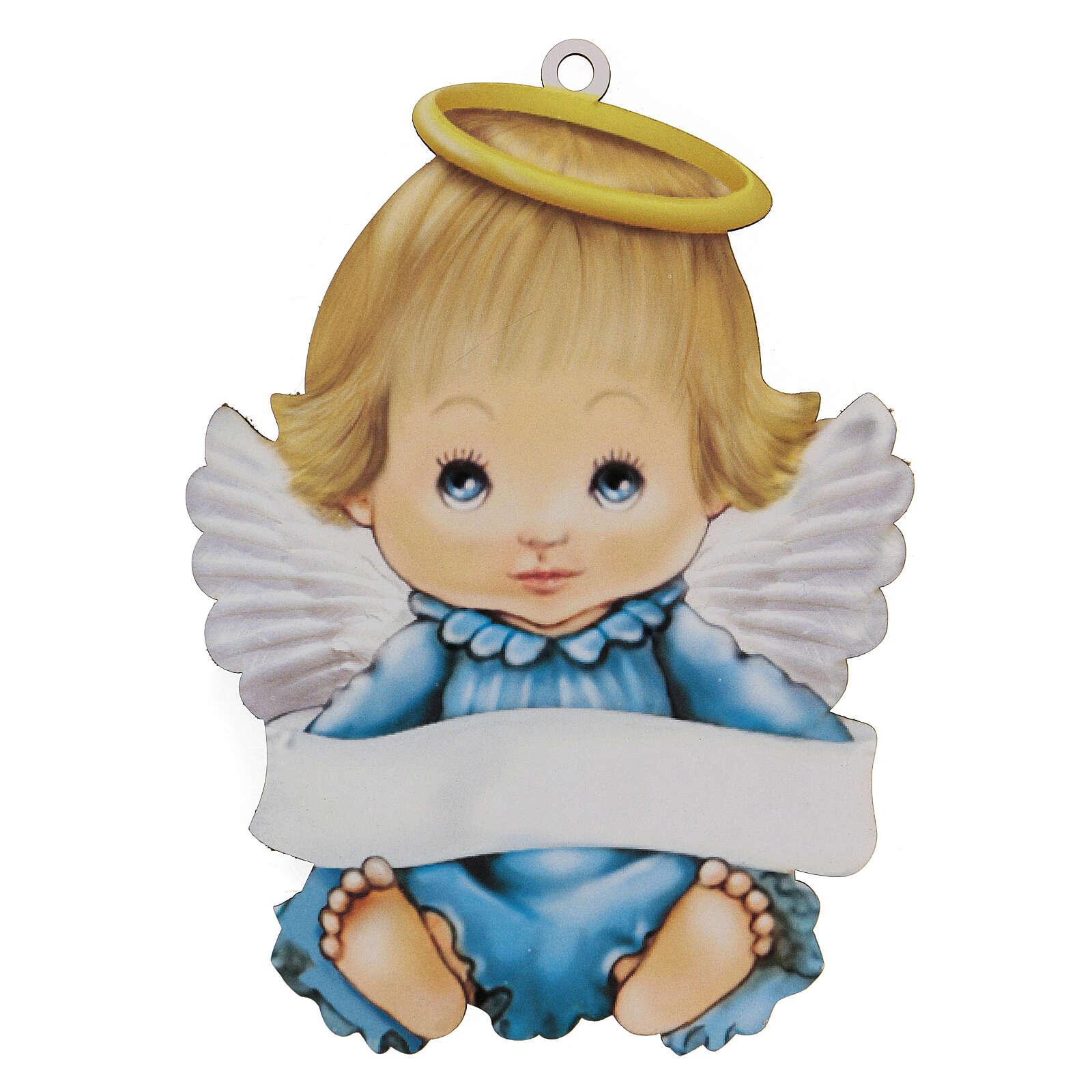 Souvenir Ange garçon 20 cm 3
